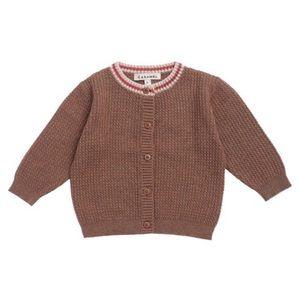 CARAMEL • Baby Camden Cardigan Sweater